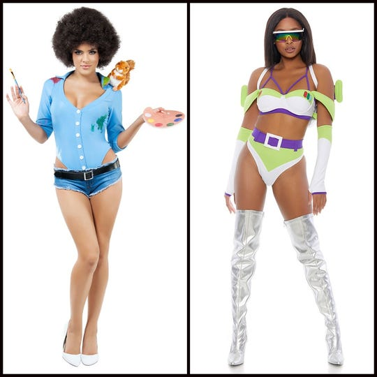 Happy Tree Painter Costume and To Infinity Space Ranger Costume
