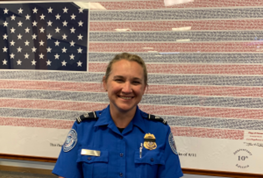 A Transportation Security Administration (TSA) officer recently saved the life of a young special-needs passenger at an Alaska airport when she choked on a grape.