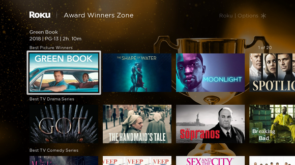 """Roku's new operating system, OS 9.2, coming soon, will let you search curated content """"zones"""" devoted to a specific genre or topic."""