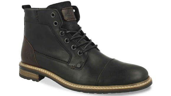 It's possible to get the comfort of combat boots without the intimidation factor with these shoes.