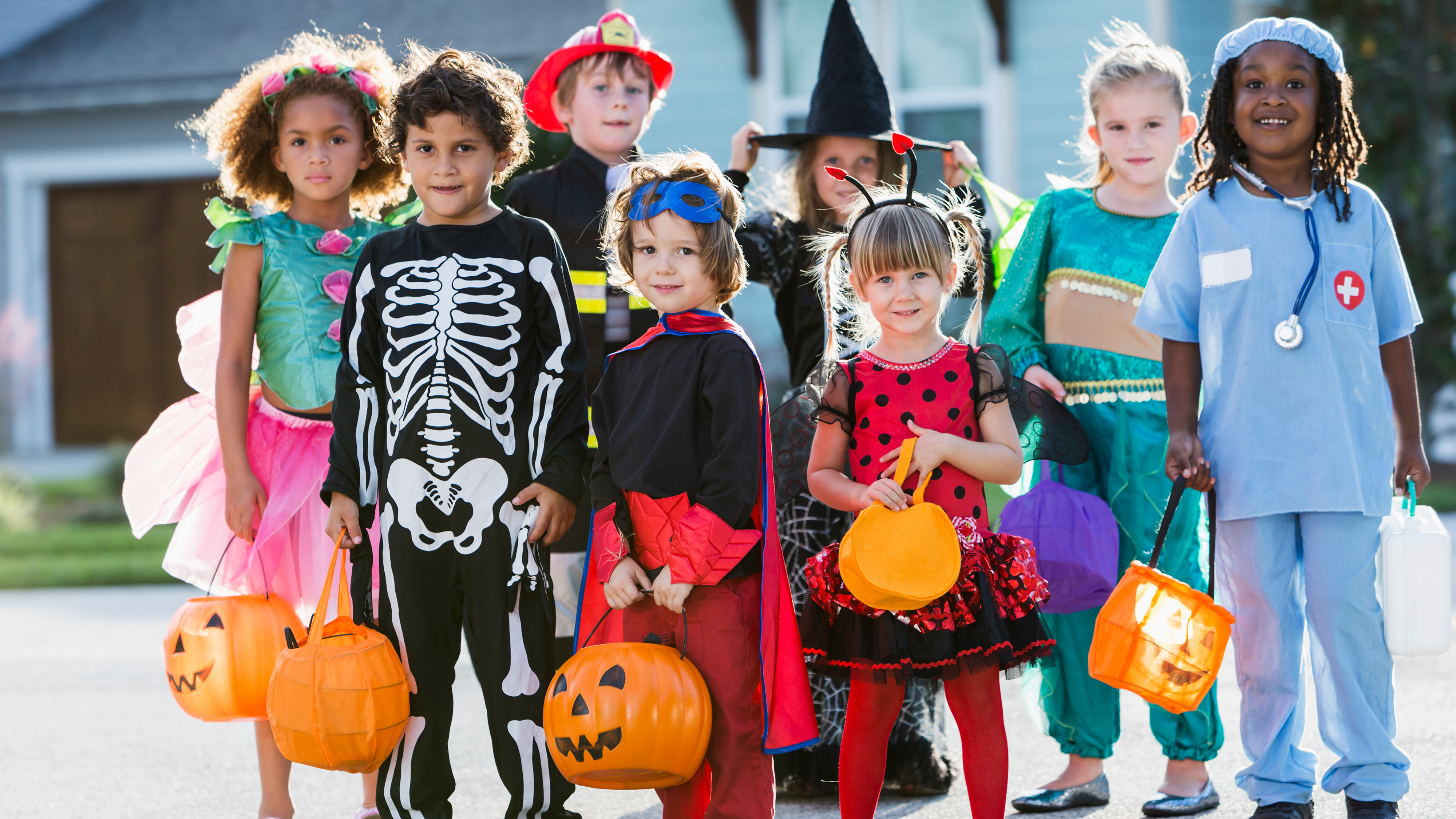 How much candy are you buying for Halloween? This survey might surprise you