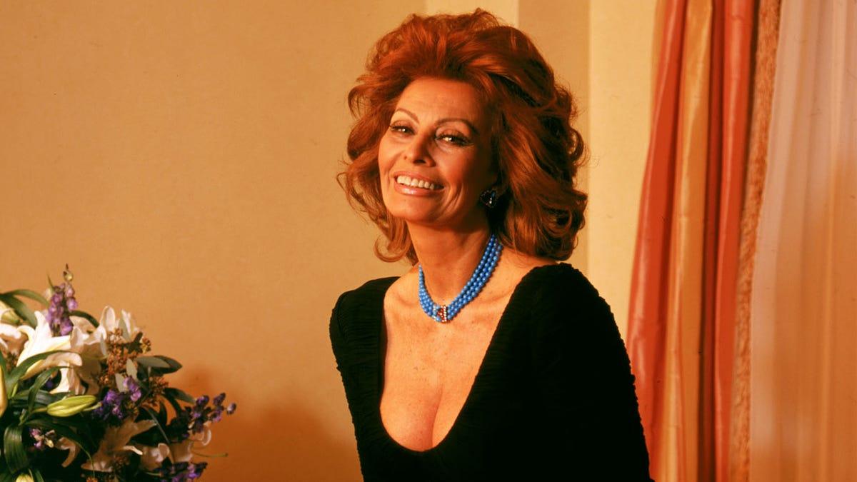 Sophia Loren Her Life In Pictures