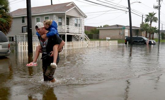 Texas flooding worse than Harvey