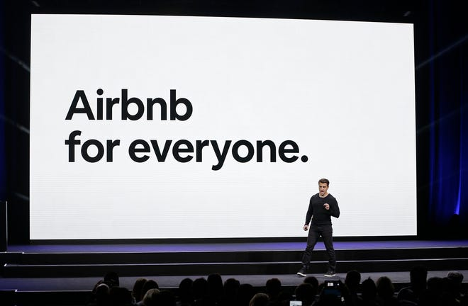 Airbnb is led by CEO Brian Chesky. The home-sharing company says it will go public in 2020.