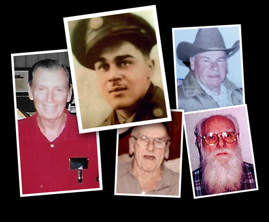 Authorities are investigating a string of suspicious deaths at a Veterans Affairs hospital in Clarksburg, West Virginia. Five of the victims have been publicly identified (clockwise from left): Air Force veteran George Nelson Shaw Sr., 81; Army veteran William