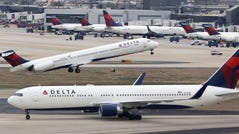 A Delta flight bound for Fort Lauderdale was forced to divert to Tampa Wednesday after the Boeing 767-300 dropped nearly 30,000 feet under 8 minutes.