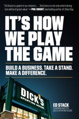 Dick's Sporting Goods CEO Ed Stack's book scheduled to hit the shelves on Oct. 8, 2019