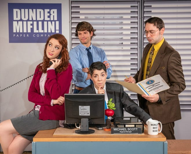 "The unauthorized off-Broadway sensation ""The Office! A Musical Parody"" will be at the Abraham Chavez Theatre on March 26."