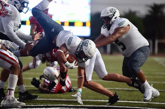 King took on Ray in a high school football game on Thursday, Sept. 19 at Buc Stadium in Corpus Christ, Texas.