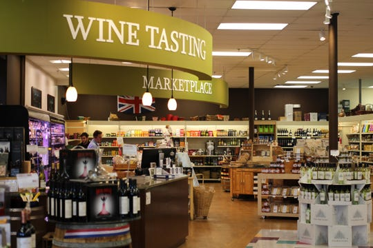 Gary's Wine & Marketplace four New Jersey locations includes a Bernardsville store, pictured. One-hour delivery now is available through a new mobile app. A fifth location will open soon in the California wine country of Napa Valley.