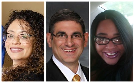 Des Moines City Council Ward 4 candidates Chelsea Chism-Vargas, Joe Gatto and ToyA Johnston.