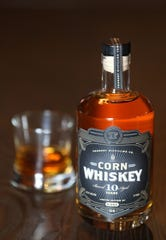 Foundry Distilling Co. is releasing its first whiskey made with corn. It has been barrel aging for 10 years in used Templeton Rye barrels.