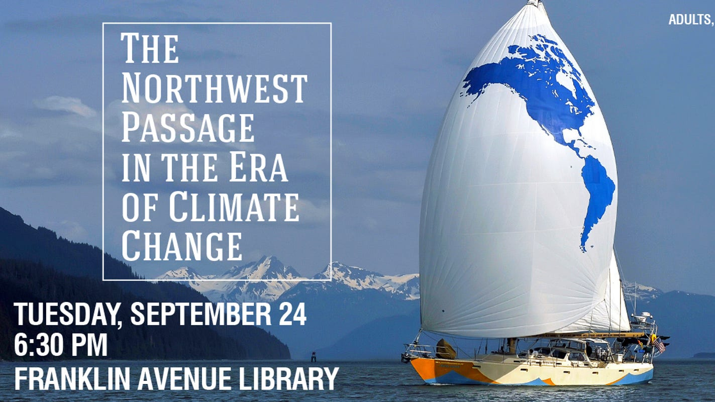 Des Moines library program explores Northwest Passage in the era of climate change