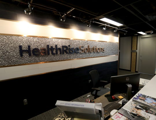 The offices of HealthRise in Southfield, Michigan