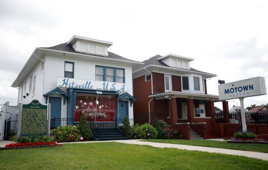Motown Records' original headquarters at 2648 West Grand Blvd., Detroit, now the Motown Museum