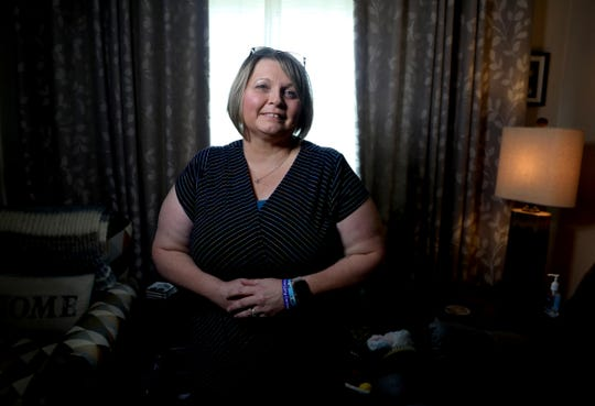 Debbie Pickworth of Garden City has stage IV lung cancer. Pickworth's grandmother and mom both died from the disease. She's gone through several medical trials and has been stable since 2014.