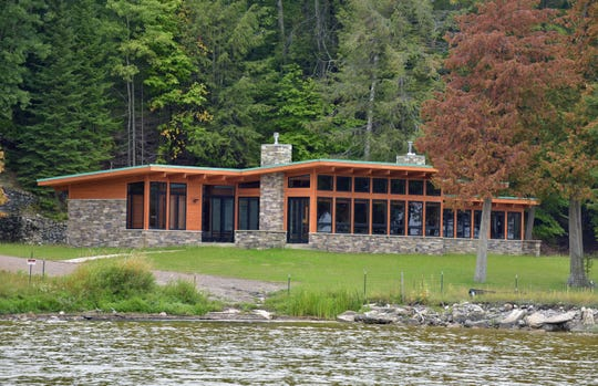 The lakefront home the UAW built for retired President Dennis Williams at the union's Black Lake retreat in Onaway features three bedrooms and a secret room hidden behind a bookshelf.