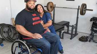 Antonio Martin is ranked 6th in the world as a power lifter is set to qualify for the US Paralympic Team for the Tokyo 2020 Summer Games.