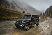 2019 Jeep Wrangler Sahara.