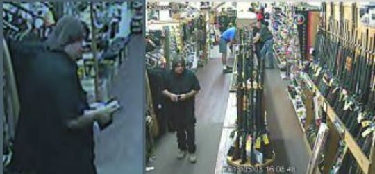The ATF is asking the public to help identify the suspect in the theft of firearms and firearm silencers from a Jackson sporting goods store.