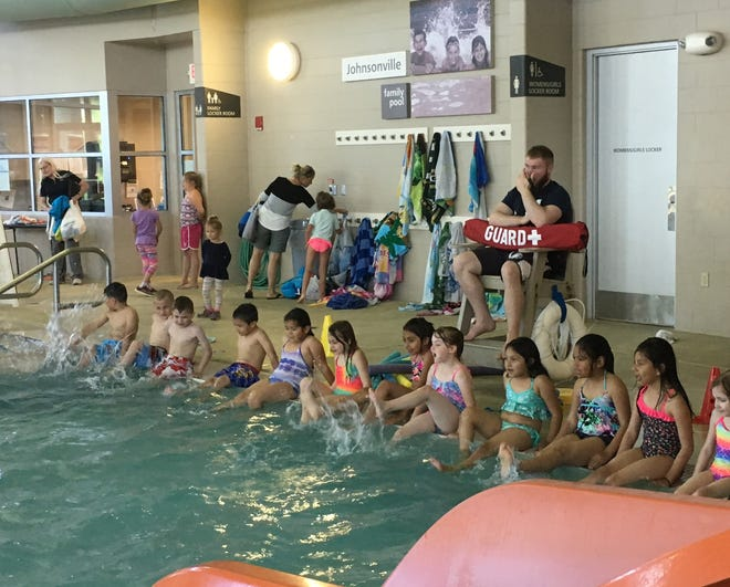Swim lessons and water safety were a large focus of the Summer of Fun program.