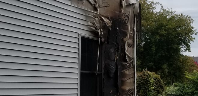 A fire significantly damaged a two-story home Thursday, Sept. 19, 2019, in the 100 block of Bly Street in Waupun.