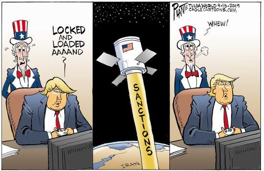 """""""Locked and loaded"""" vs. Iran"""