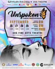 Poster for Unspoken, A Mental Health Anthology
