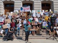 Indianapolis students join national movement and miss school for Youth Climate Strike