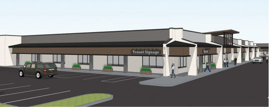 Rendering of a grocery store that could move into a mall at 126th Street and Gray Road in Carmel where an O'Mailia's once stood.