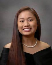Elisa Kapunan, USJ senior who qualified as a semifinalist in the 2020 National Merit Scholarship Program