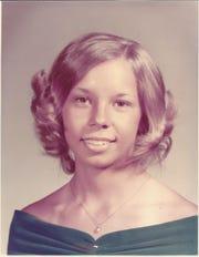 Donna Silvey in her Bearden High senior portrait, 1973.