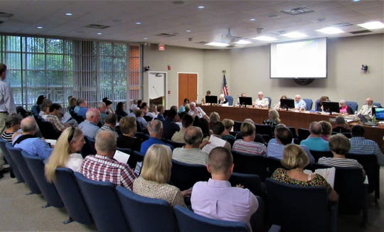 The boardroom was packed at the Sept. 19 meeting of the Municipal Planning Commission. Nearly all were there to learn more about Springs at Farragut, a proposed new development that would bring 200-plus rental apartments to the Horne property north of Ingles.
