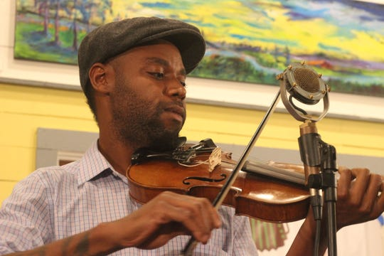 Musician Cedric Watson will perform Wednesday at the Festival of Word's presentation at Chicory's Coffee and Cafe in Grand Coteau.