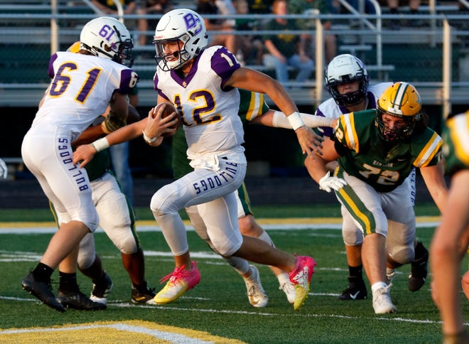 Bloom-Carroll senior quarterback Otto Kuhns helped lead the Bulldogs to a 10-3 overall record in 2019, which included Mid-State League-Buckeye Division championship and Division IV regional runner-up. Kuhns accounted for 7,809 total yards and 90 touchdowns during his career.