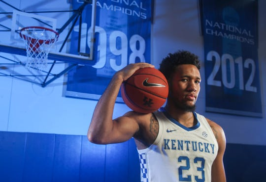 EJ Montgomery has returned for his sophomore season at Kentucky after declaring for the NBA draft earlier. Montgomery appeared in all 37 games for the Wildcats during his freshman campaign, including making 10 starts and started in nine of UK's final 11 games. He scored 139 points, had 150 rebounds, 38 blocks, 16 steals and 15 assists. He ranked third on the team with the 38 rejections and led the team in the 14 games.