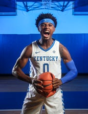 Sophomore Ashton Hagans, a 6-foot-3-inch guard, had 284 points, 160 assists, 96 rebounds and 61 steals in his freshman year in 2018. He led UK in assists and steals and started 30 of 37 games, including the final 29. Hagans tied Shai Gilgeous-Alexander for the third-most steals by a freshman in school history.