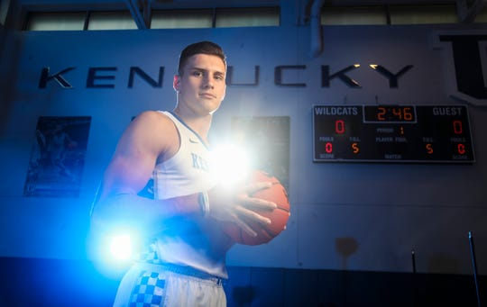 Grad transfer Nate Sestina will be counted on in the upcoming 2019-2020 season. Sestina played at Bucknell.