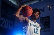 Freshman forward Keion Brooks Jr. of Fort Wayne, Indiana, chose Kentucky over Indiana, Michigan State, Kansas and UCLA.