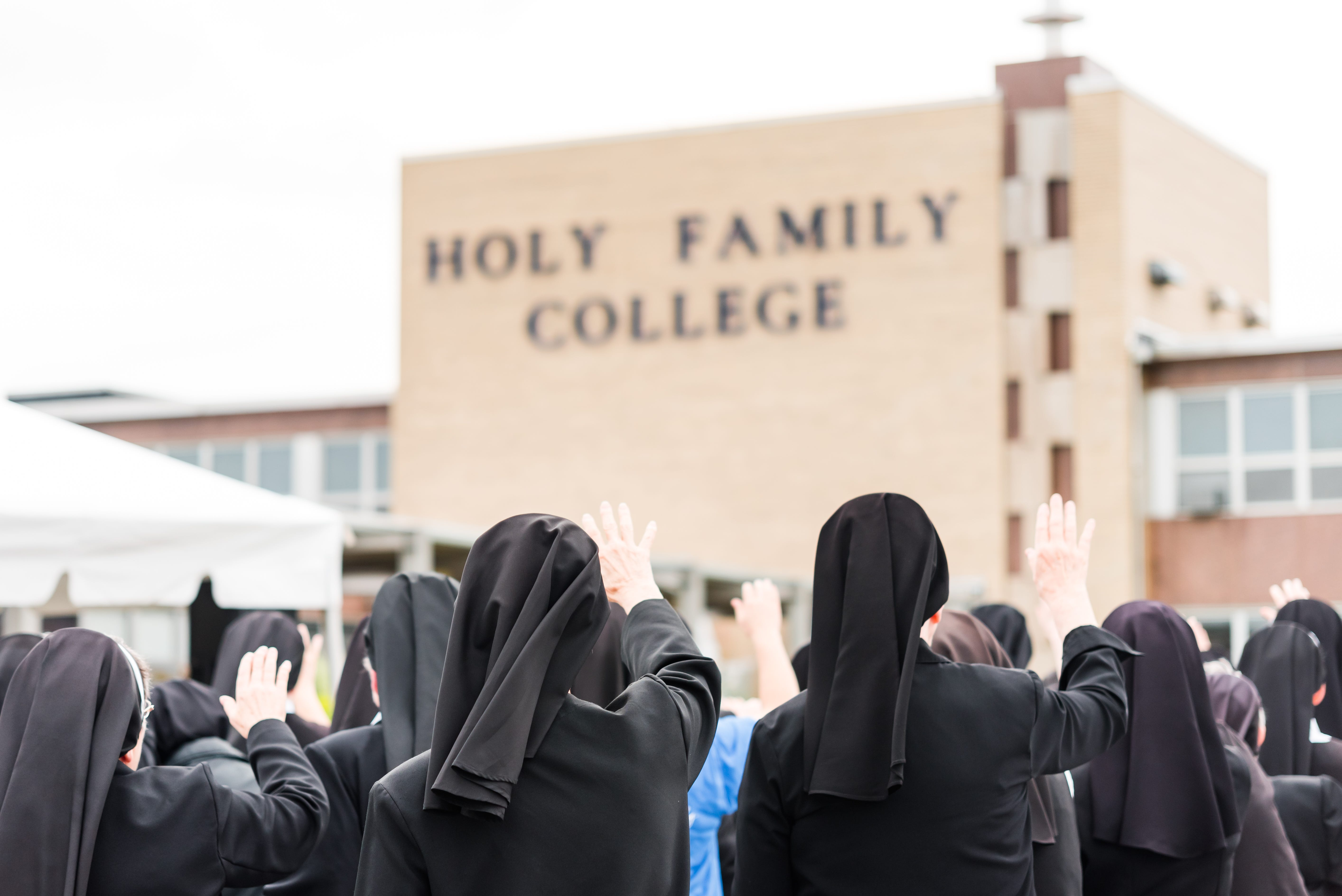 What am I going to do now? : Some fear small Catholic college closing may not be the last