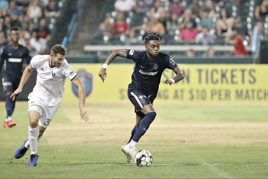 Midfielder Marcus Epps, on loan to 901 FC from the New York Red Bulls, is from Jackson, Mississippi and has been playing in front of family and friends since joining the club in August.