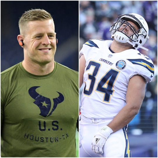 sneakers for cheap 8d849 b85fa JJ Watt and the Houston Texans to face brother Derek Watt ...