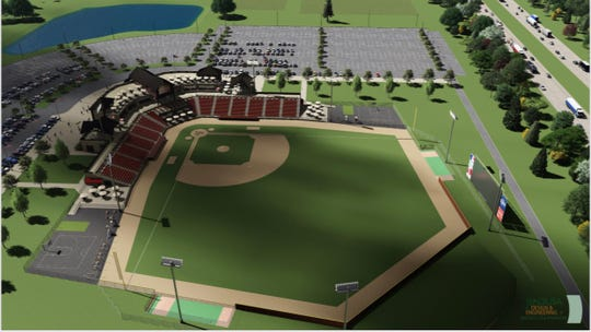 Plans have been withdrawn for a 3,000-seat baseball complex proposed in the village of Summit.