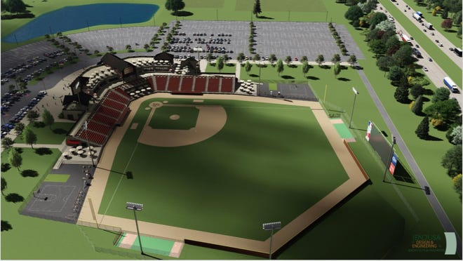 A 3,000-seat baseball complex has been proposed in the village of Summit.