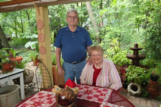 John and Donna Goodrich built their three-bedroom, 1 1/2-bath house on   a 3/4-acre lot in 1967.