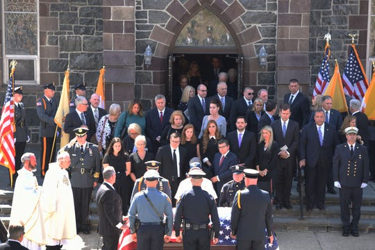 Private funeral for the Sen. Anthony Bucco on Friday, Sept.  20, 2019.