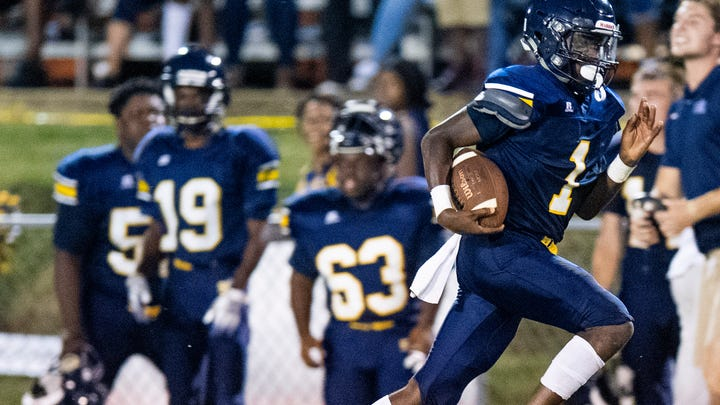 Montgomery area high school football Week 5 scores