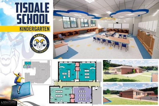 Tisadale School addition