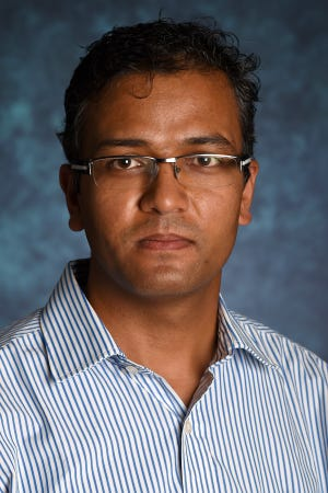 Environmental science assistant professor Rajan Ghimire
