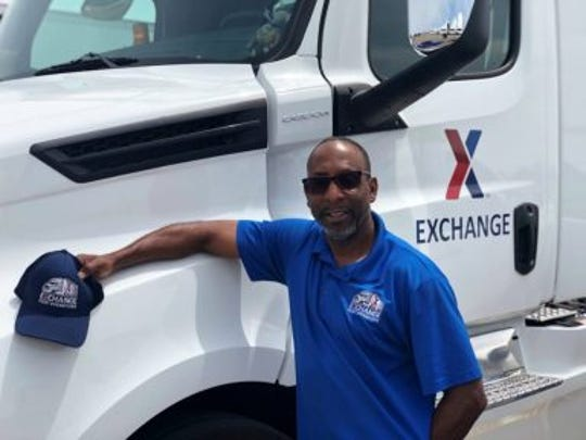 Edward R. Carley III, a driver for the Army & Air Force Exchange Service's West Coast Distribution Center, has been selected as a 2019 National Private Truck Council (NPTC) National Driver All-Star.